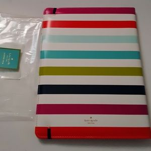 New! Kate Spade Candy Stripe Notebook!